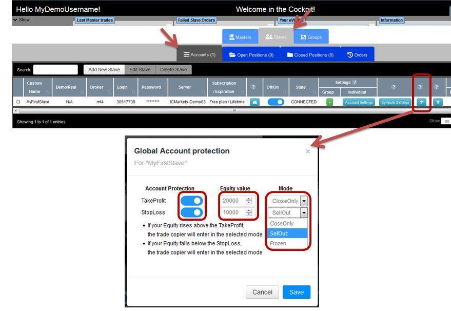 global account protection